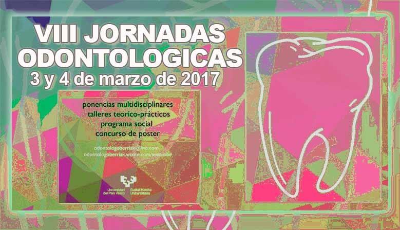 Las VIII Jornadas Odontológicas se celebrarán los días 3 y 4 de marzo